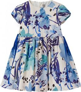 Niebieska sukienka dziewczęca Il Gufo