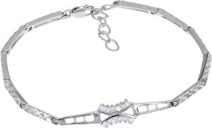 Monarti Rodowana srebrna bransoletka z cyrkoniami