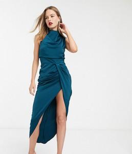 Sukienka Asos z golfem bez rękawów maxi
