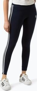 Granatowe legginsy Adidas Originals
