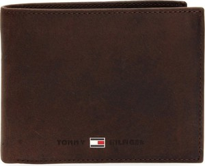 Brązowy portfel męski Tommy Hilfiger