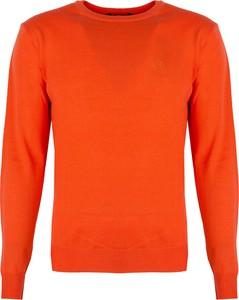 Pomarańczowy sweter ubierzsie.com