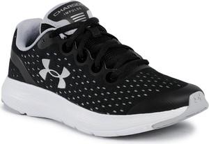 Czarne buty sportowe Under Armour sznurowane na platformie