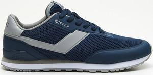 Cropp - Niskie sneakersy - Granatowy