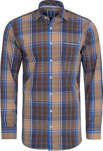 Koszula Redmond z bawełny w stylu casual z długim rękawem