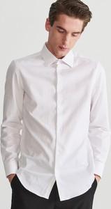 Koszula Reserved z żakardu z długim rękawem