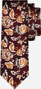 Krawat Lambert z jedwabiu w stylu boho