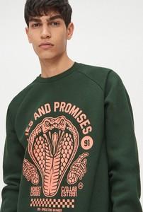 Zielona bluza Cropp