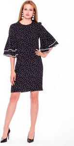 Sukienka L'AF z bawełny z długim rękawem