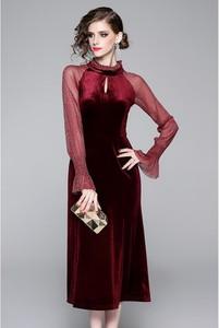 Sukienka Tina midi z bawełny
