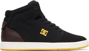 Buty sportowe DC Shoes w sportowym stylu sznurowane z zamszu