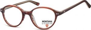 Stylion Okragle oprawki optyczne, korekcyjne Montana MA70E