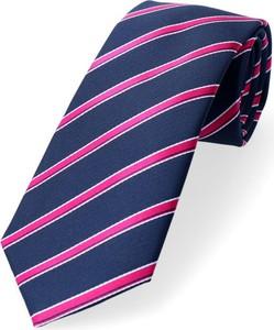Granatowy krawat Dobrze Dodane