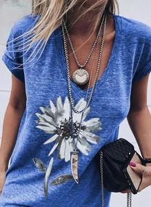 Niebieska bluzka Sandbella