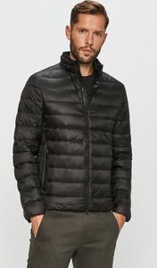 Czarna kurtka Geox krótka w stylu casual