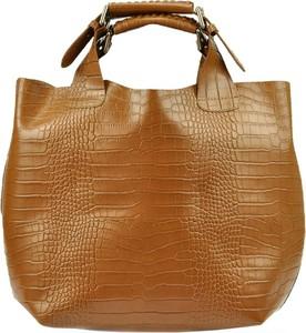 Brązowa torebka Luka w stylu retro