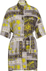 Sukienka Versace Jeans z kołnierzykiem