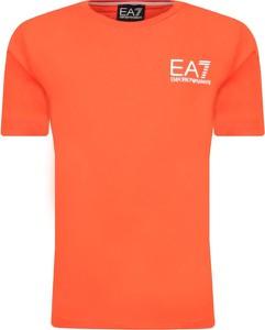 Koszulka dziecięca EA7 Emporio Armani z krótkim rękawem