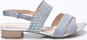 Sandały Caprice na obcasie w stylu casual