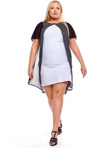 Sukienka Fokus mini z szyfonu