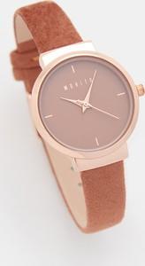 Mohito - Zegarek na ozdobnym pasku - Brązowy