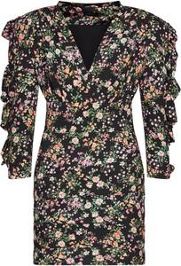 Sukienka Rage Age z dekoltem w kształcie litery v z szyfonu mini