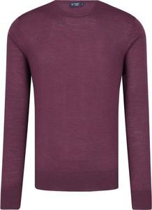 Sweter Hackett London z wełny w stylu casual