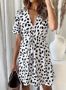 Sukienka Cikelly w stylu casual z bawełny