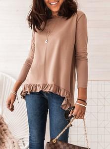 Różowa bluzka SELFIEROOM z bawełny