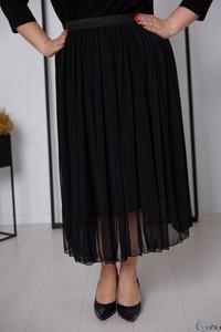 Czarna spódnica tono.sklep.pl z tiulu