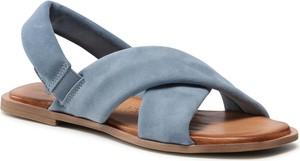 Sandały Tamaris w stylu casual z płaską podeszwą