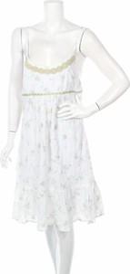 Sukienka Container z okrągłym dekoltem rozkloszowana