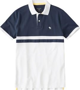 Koszulka polo Abercrombie & Fitch z dżerseju z krótkim rękawem