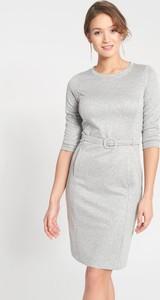 Sukienka QUIOSQUE z długim rękawem mini w stylu casual