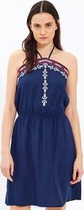 Niebieska sukienka Gate w stylu casual