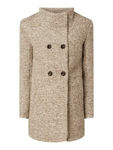 Brązowy płaszcz Only w stylu casual