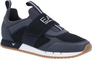 Czarne buty sportowe Emporio Armani