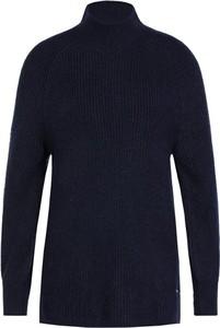 Granatowy sweter Tommy Jeans w stylu casual