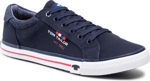 Tenisówki TOM TAILOR - 118040100 Navy 1
