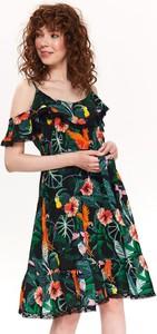 Sukienka Top Secret w stylu boho z tkaniny mini