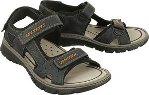 Zielone buty letnie męskie Rieker