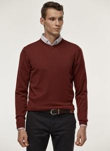 Czerwony sweter Pako Lorente