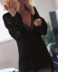 Czarna sukienka Kendallme mini
