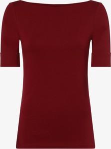 Czerwony t-shirt Ralph Lauren w stylu casual z długim rękawem
