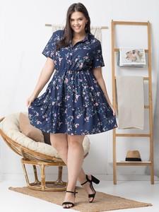 Sukienka KARKO dla puszystych