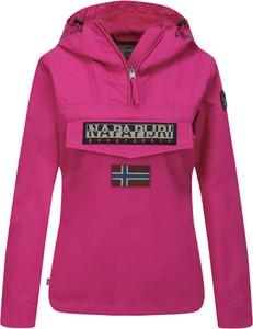 Różowa kurtka Napapijri