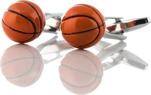 Em Men`s Accessories Spinki do mankietów piłki koszykówka EM 7