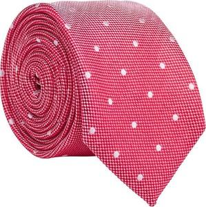 Czerwony krawat Lavard