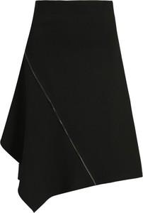 Czarna spódnica DKNY midi