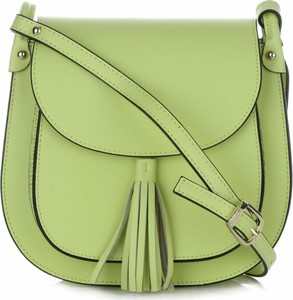 Zielona torebka VITTORIA GOTTI średnia w stylu casual ze skóry
